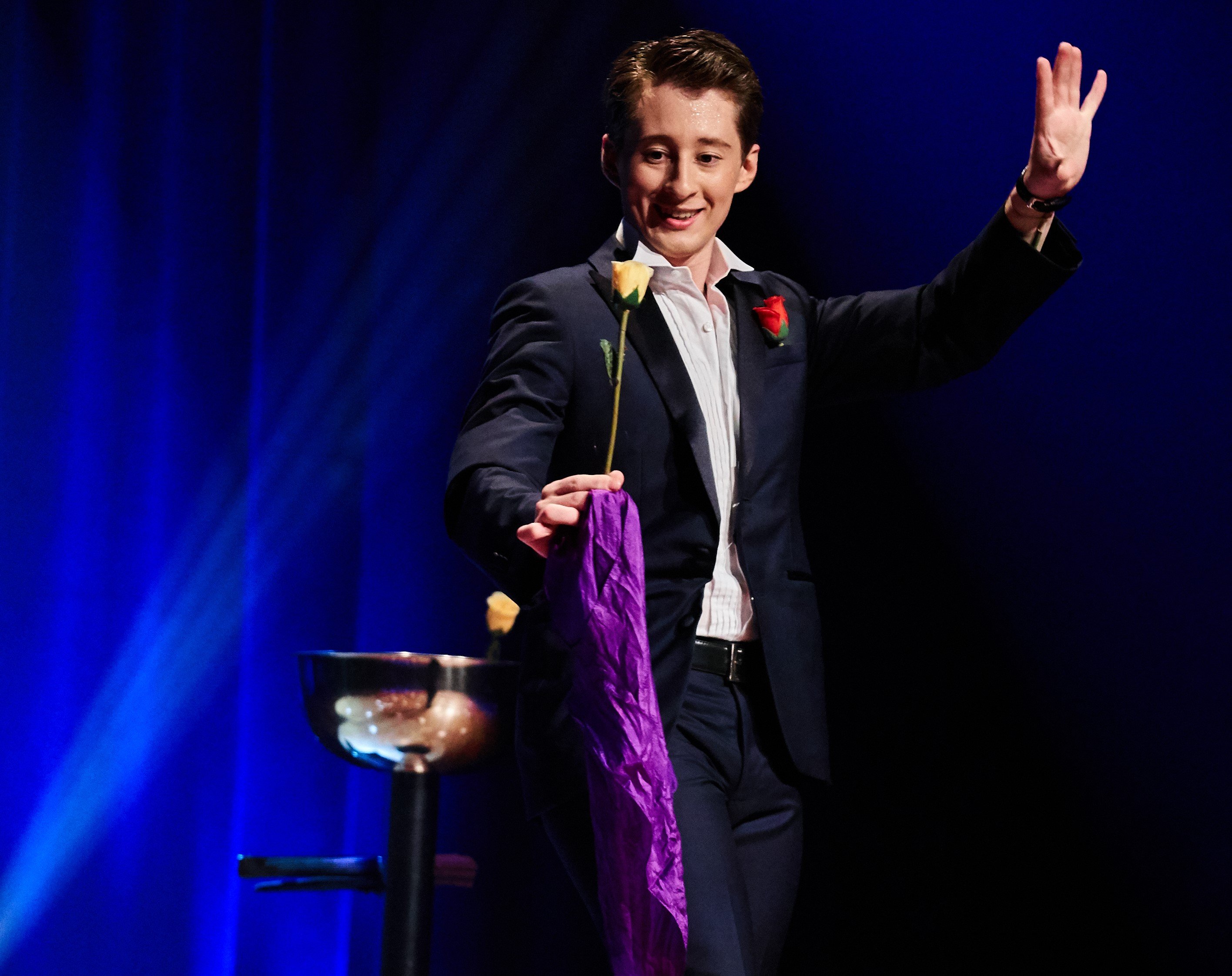 Rafael Scholten gala act Barcelona