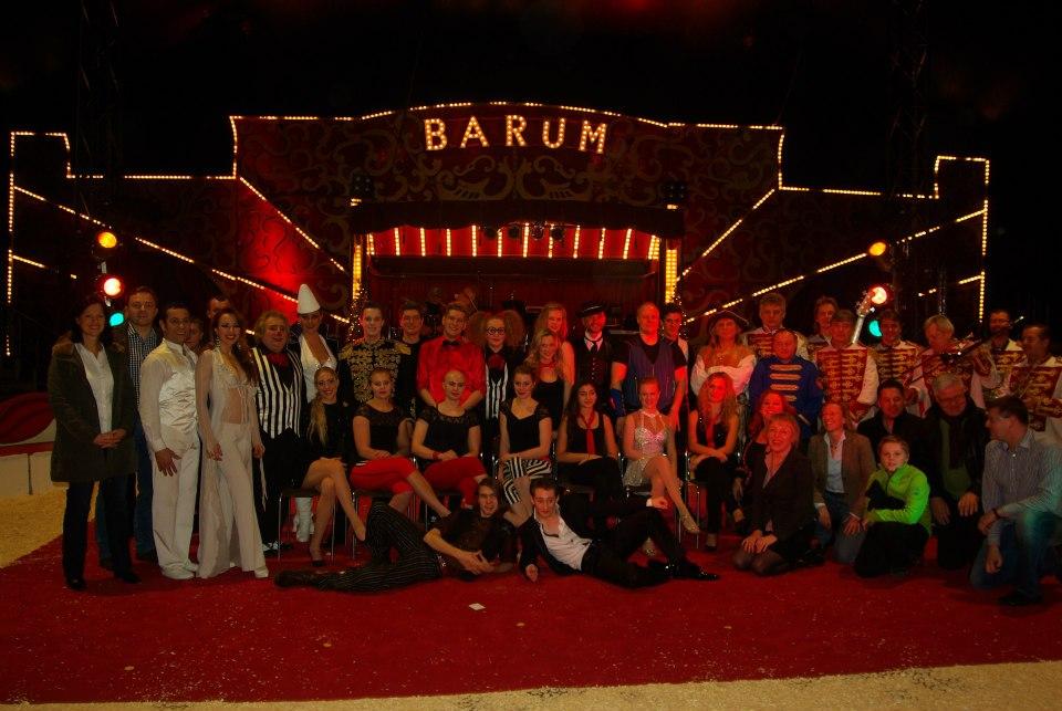 Rafael Scholten Circus Barum Finale christmas circus