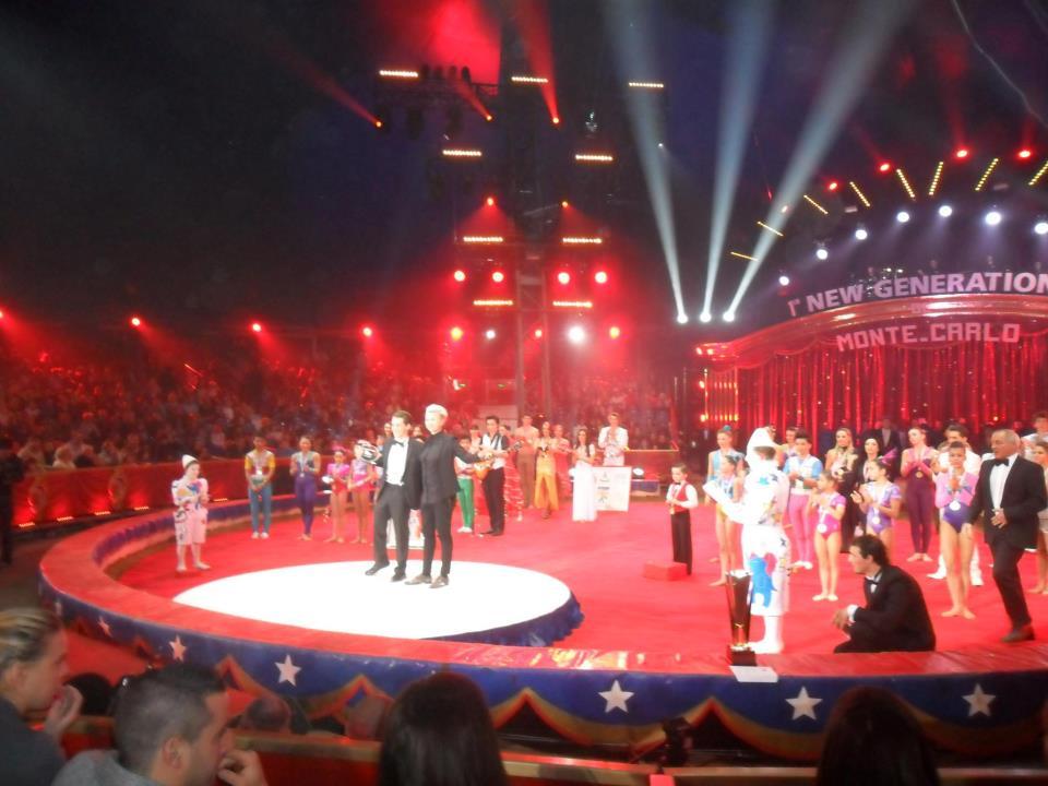 Rafael Scholten Prijsuitreiking Circus van Monte-Carlo