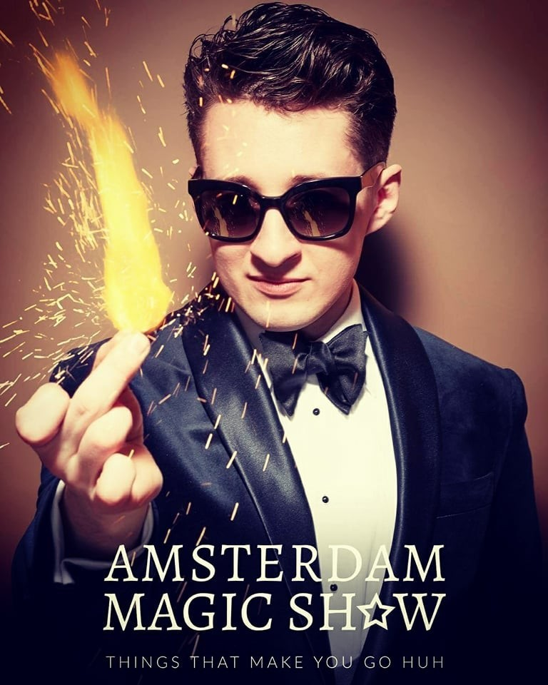 Rafael Scholten at Amsterdam magic show