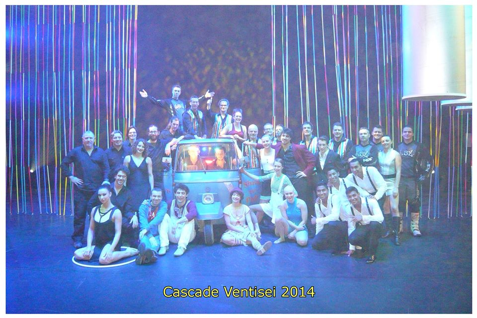Finale circus cascade Utrechse Schouwburg