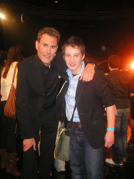 Uri Geller en Rafael Scholten