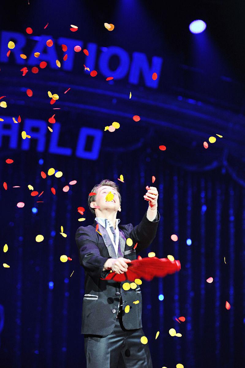 Romantische rozen act in Monaco Rafael Scholten